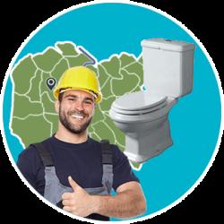 Riparazione scarico wc intasato pronto intervento wc Roma